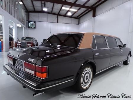 1986 Silver Spur factory limousine 2