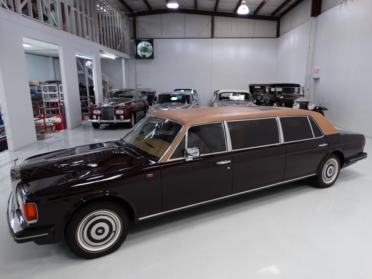 1986 Silver Spur factory limousine 3