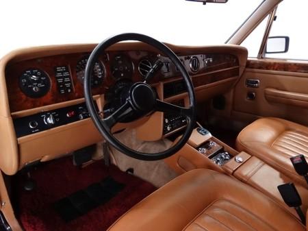 1986 Silver Spur factory limousine 6