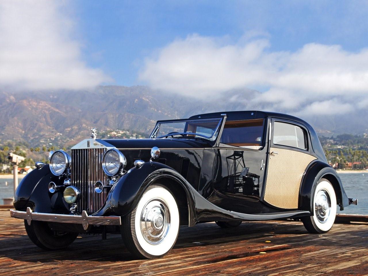1938 Rolls Royce Phantom III Sedanca deVille Park Ward 2