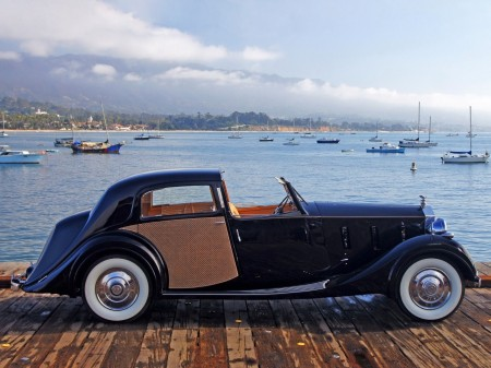 1938 Rolls Royce Phantom III Sedanca deVille Park Ward 5