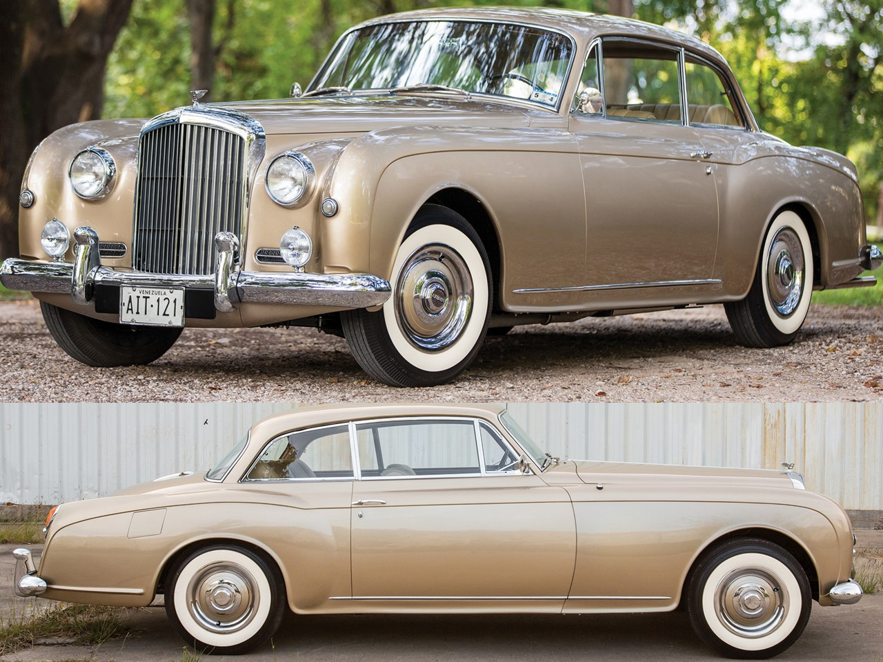 1955 Bentley Continental Park Ward 1