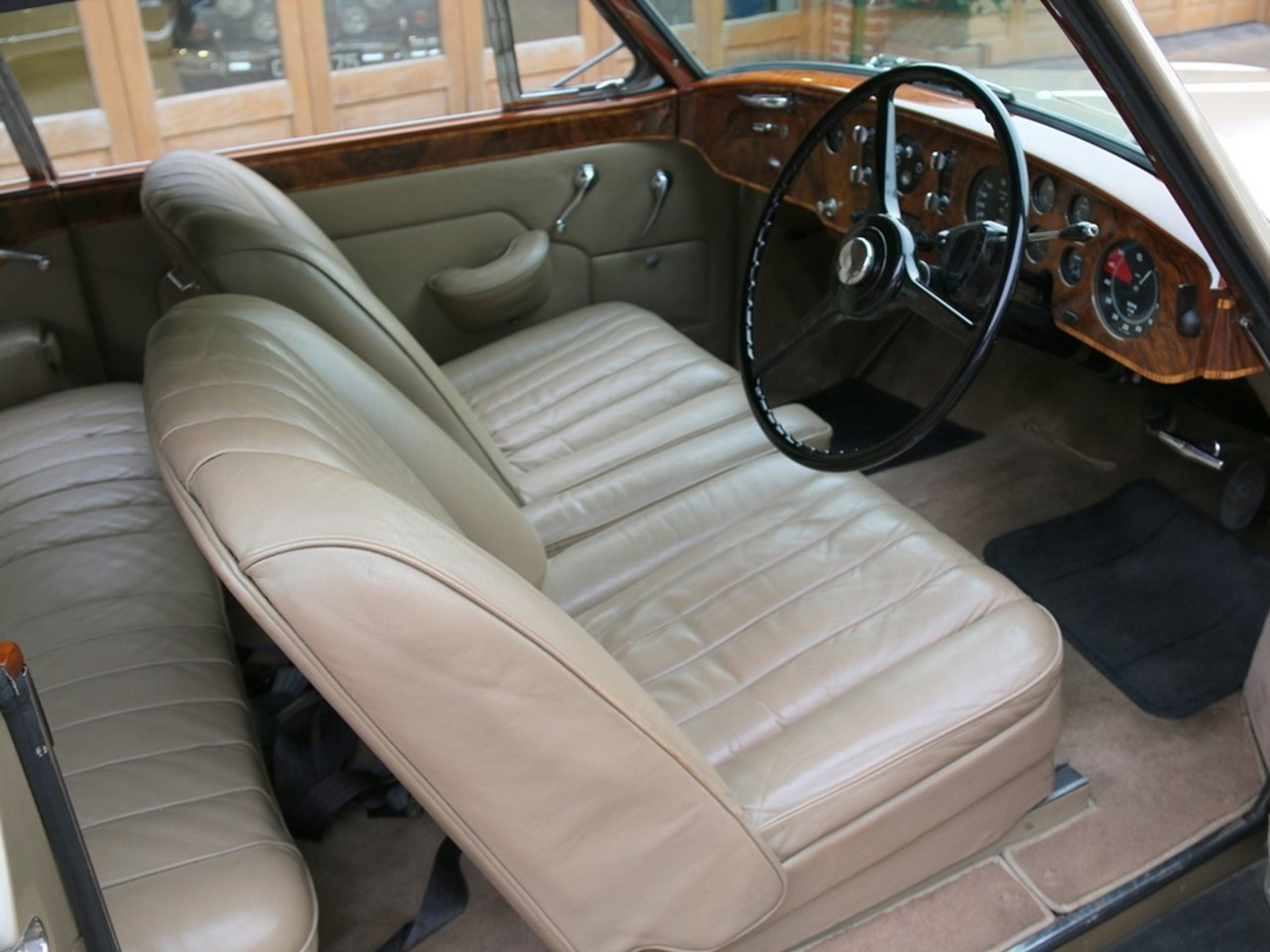 1955 Bentley Continental Park Ward 3D