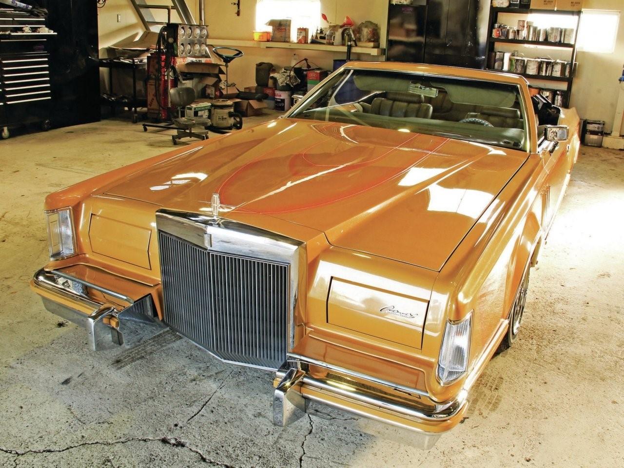 1979 Continental MK V custom 1