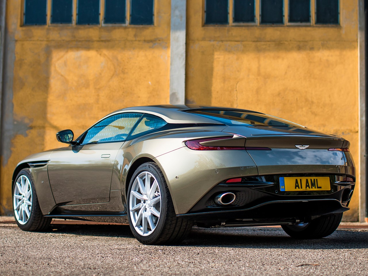 The Notorious 2017 Aston Martin DB11