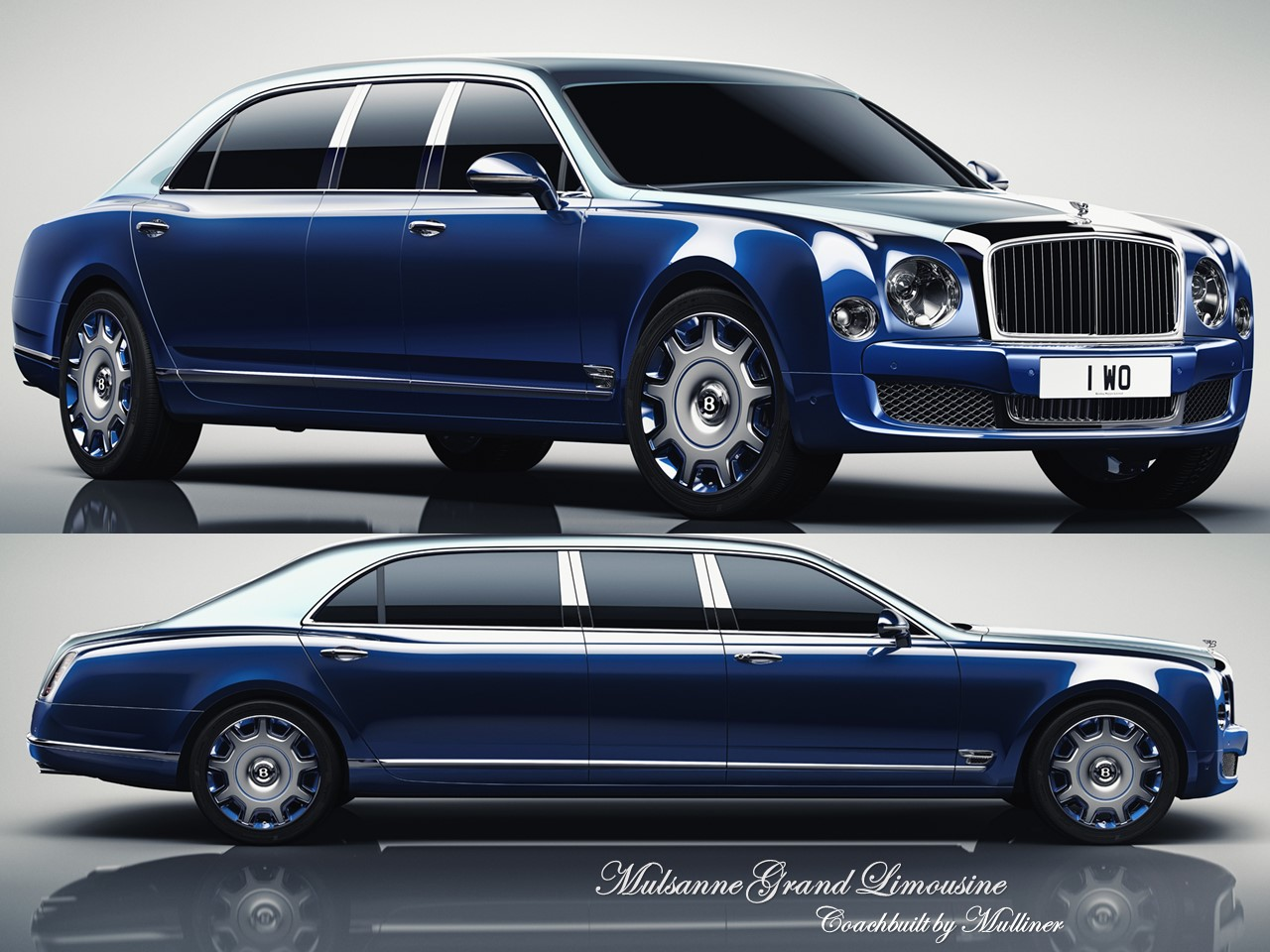 Limousine: Bentley Mulsanne Grand Limousine By Mulliner