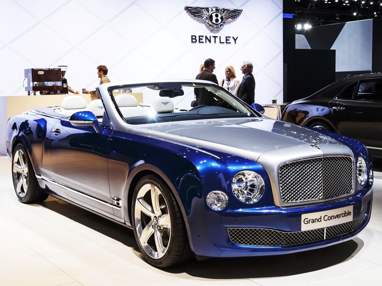 Bentley Grand Convertible Concept   NotoriousLuxury