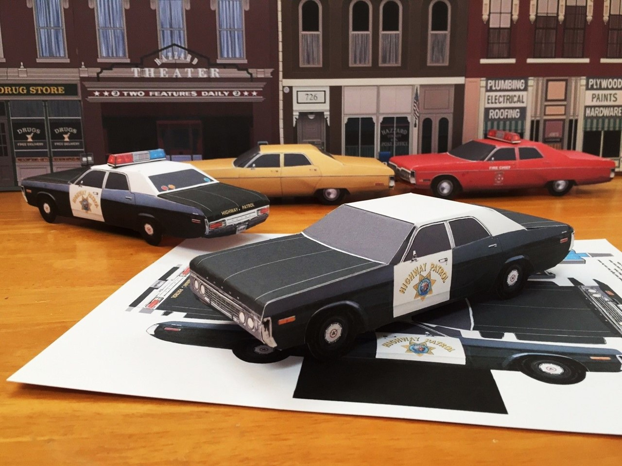 papercraft-1972-dodge-polara-highway-patrol