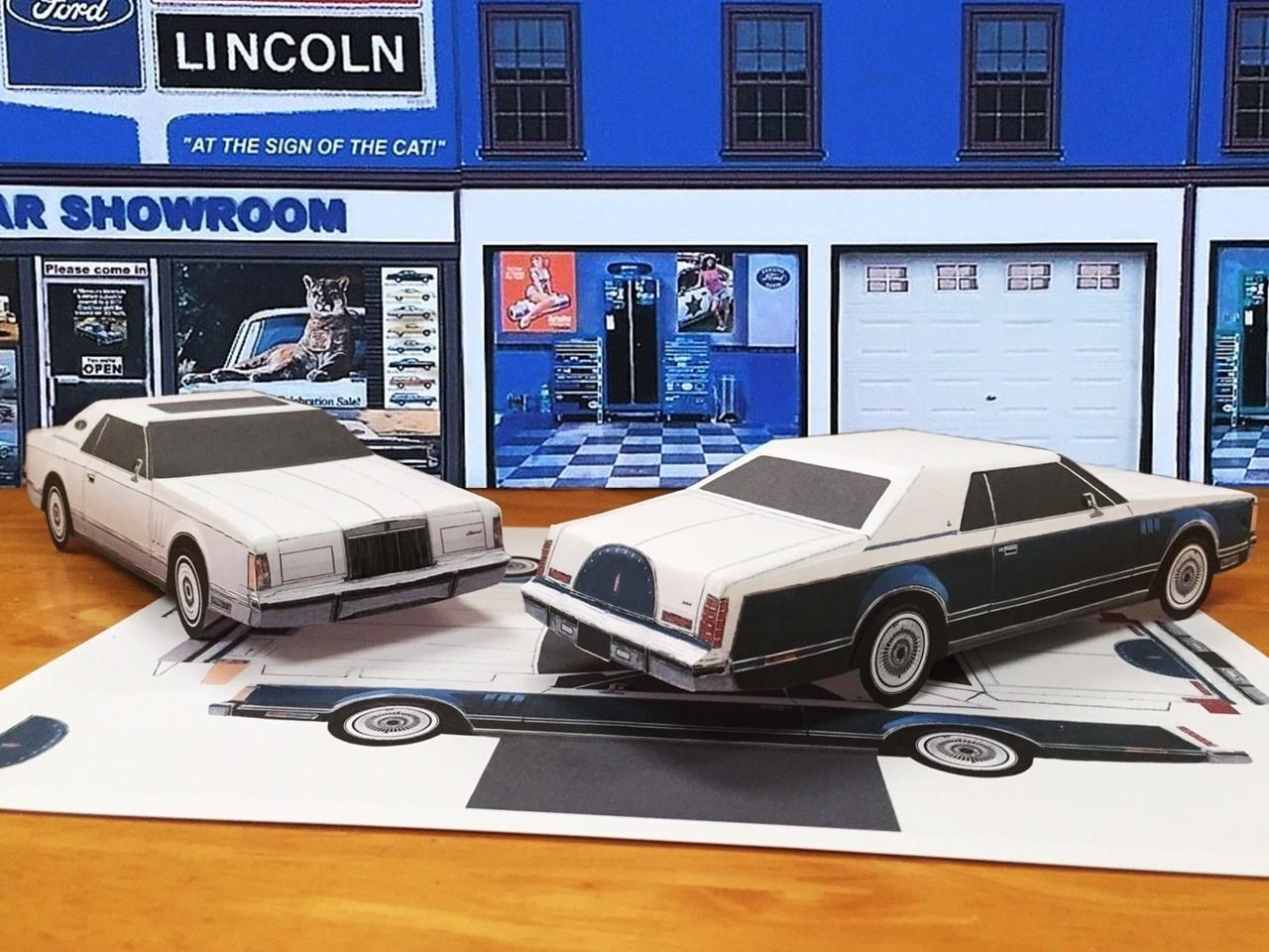 papercraft-1977-lincoln-mark-v-bill-blass-edition