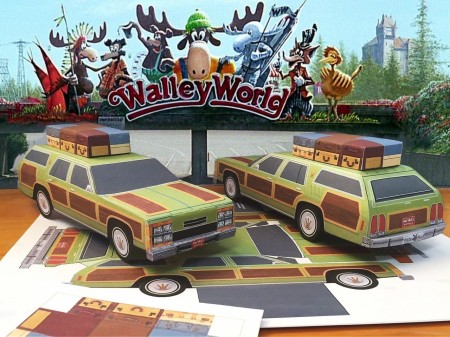 papercraft-vacation-movie-family-truckster-ford-wagon