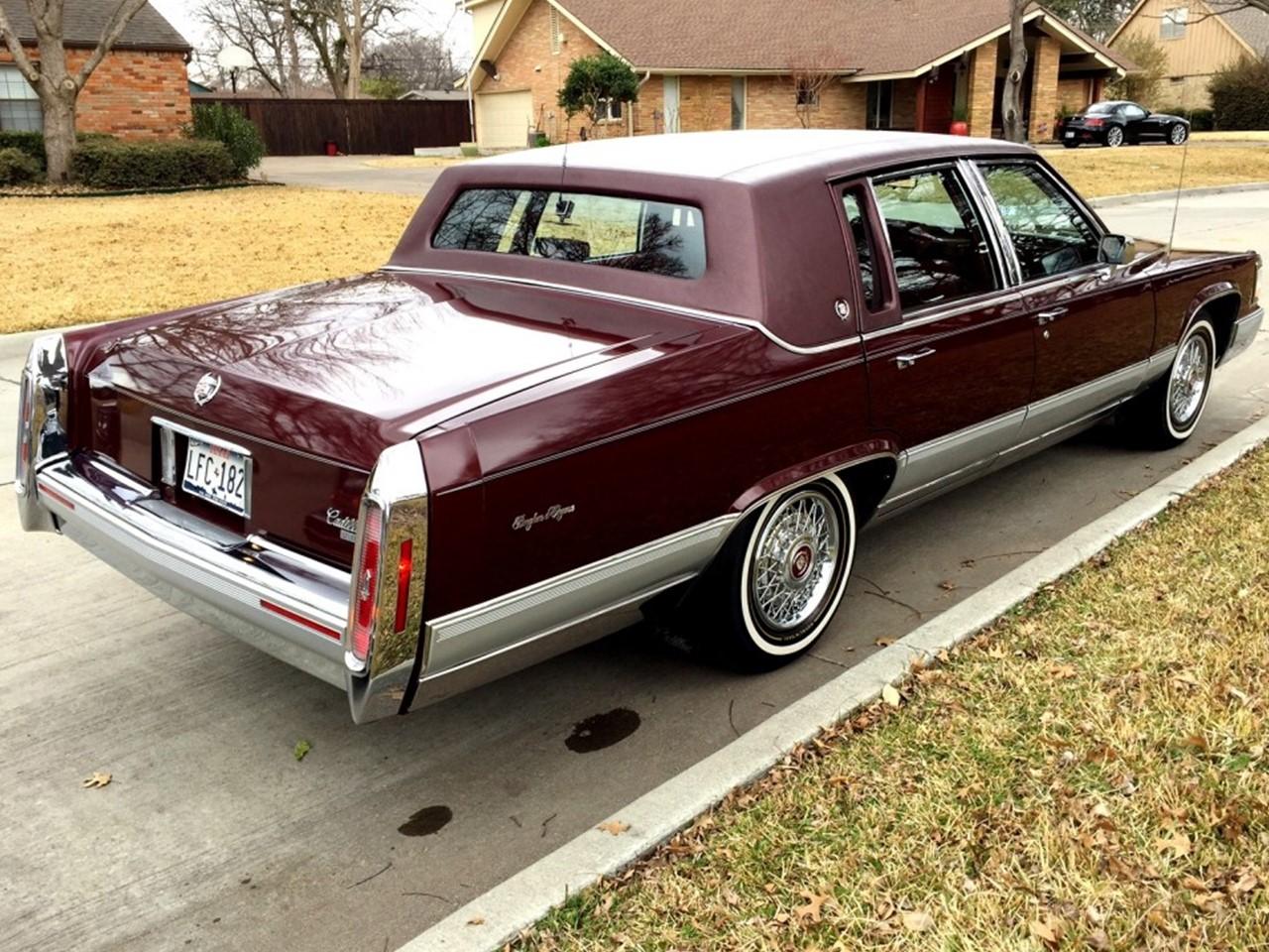 1991 Cadillac Brougham d'Elegance | NotoriousLuxury