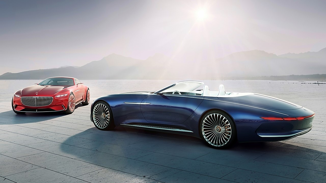 Luxury Car Vision >> The Vision Mercedes Maybach 6 Cabriolet Is The Next Generation Of
